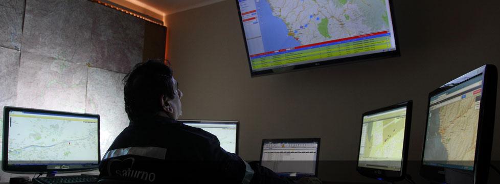 Centro de Control de Flota - GPS