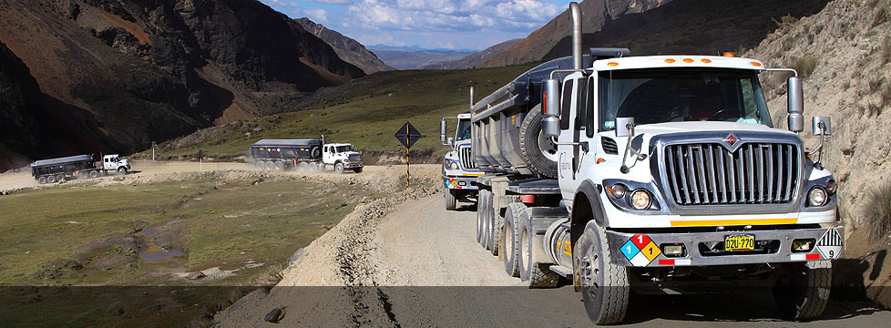 Leader in the Transportation Service Concentrates in Peru since 2008